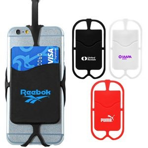 Silicone Smart Phone Neck Wallet